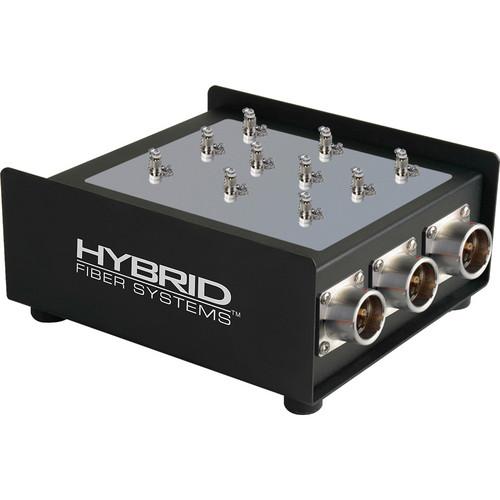 Camplex 5-Channel Female SMPTE 311M Hybrid Fiber To Duplex ST Fiber Optic Breakout Box