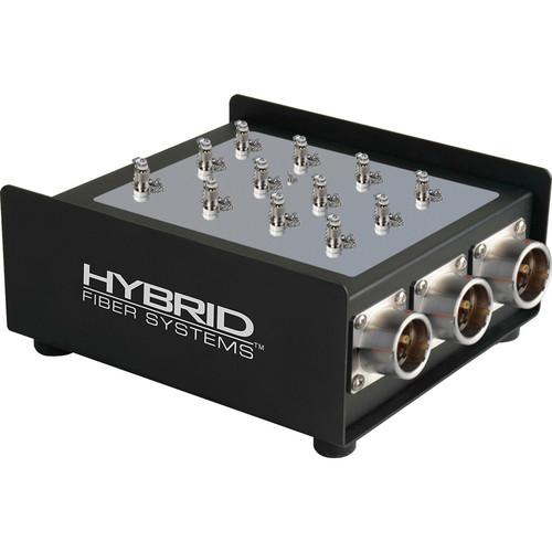 Camplex 6-Channel Female SMPTE 311M Hybrid Fiber To Duplex ST Fiber Optic Breakout Box