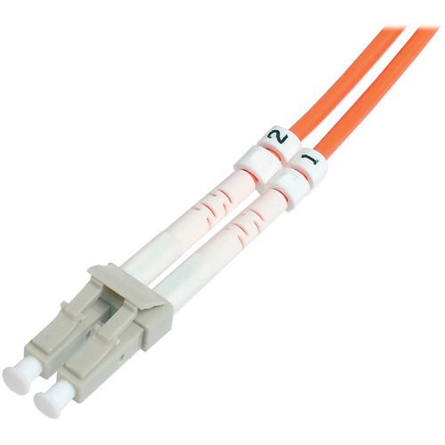 Camplex Duplex LC to Duplex LC Multimode Fiber Optic Patch Cable (Orange, 3.28')