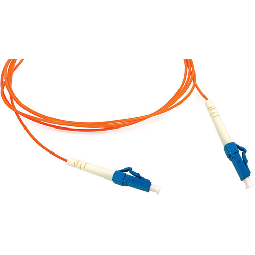 Camplex Simplex LC to LC Multimode Fiber Optic Patch Cable (Orange, 16.4')