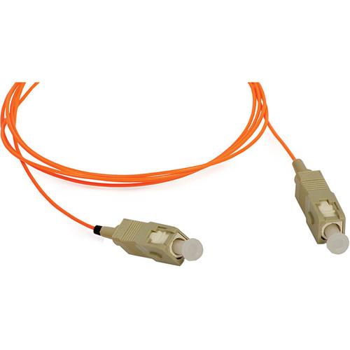 Camplex Simplex SC to SC Multimode Fiber Optic Patch Cable (9.84', Orange)