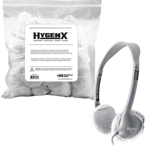 """HamiltonBuhl 2.5"""" Disposable Ear Cushion Covers for On-Ear Headphones & Headsets (Bulk Bag, 1,000 Pairs)"""
