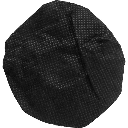HamiltonBuhl Sanitary Disposable Microphone Covers (Box of 100, Black)