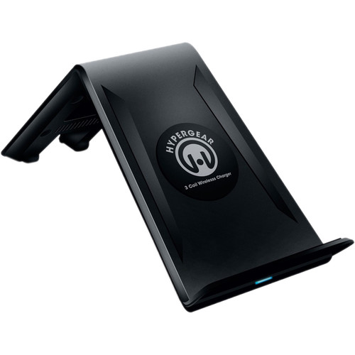 HyperGear Qi Wireless Charging Stand (Black)