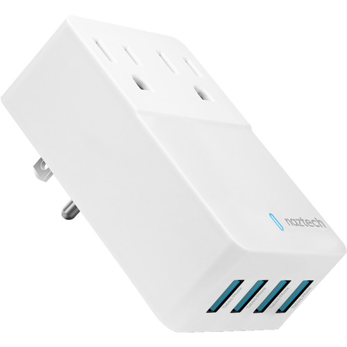 HyperGear Naztech Fast Multi-Device Charger (White)