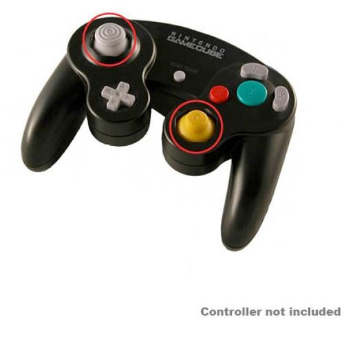 HYPERKIN Replacement Analog Cap for Nintendo GameCube Controller (Yellow)