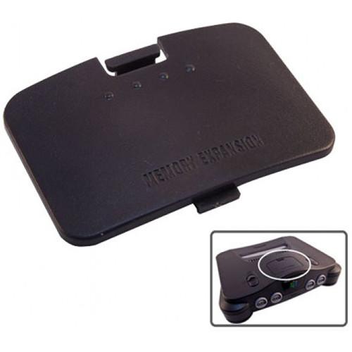 HYPERKIN RepairBox Replacement Memory Door Cover for Nintendo 64 (Black)