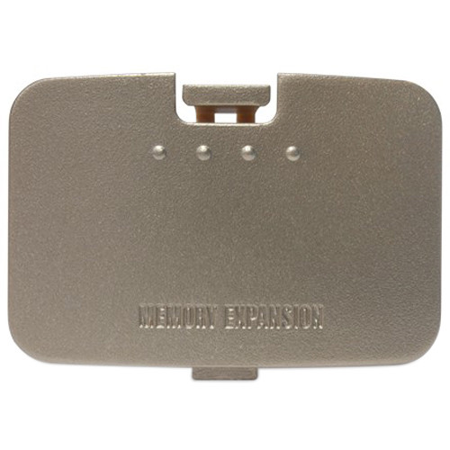 HYPERKIN RepairBox Replacement Memory Door Cover for Nintendo 64 (Gold)