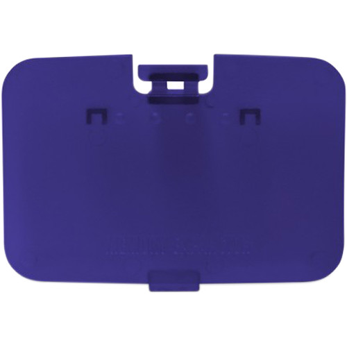 HYPERKIN RepairBox Replacement Memory Door Cover for Nintendo 64 (Grape Purple)