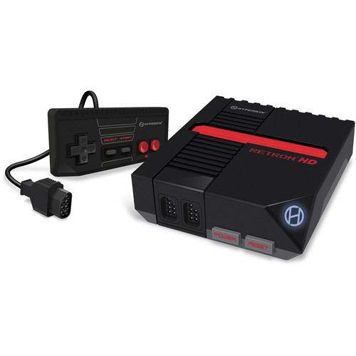 HYPERKIN RetroN 1 HD Gaming Console (Black)