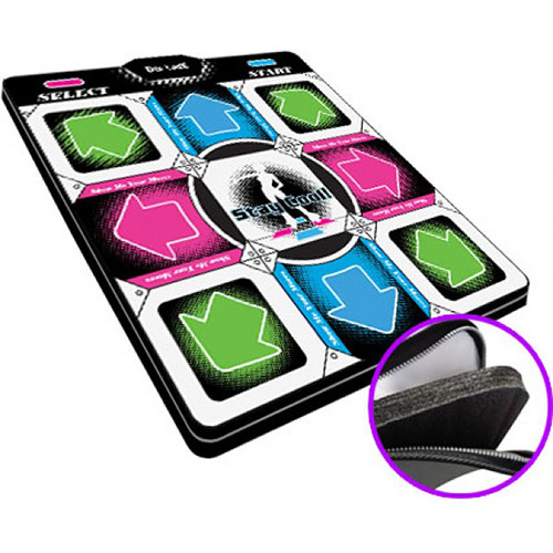 """HYPERKIN DDR Game V2.0 Super Deluxe Dance Pad with 1"""" Foam Insert for Sony PS2/PS1 Systems"""