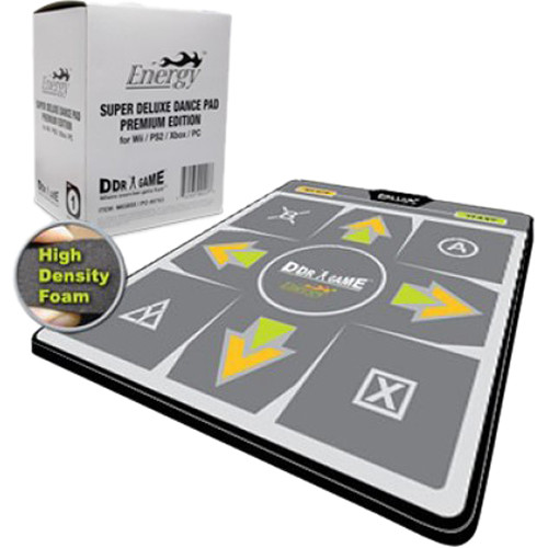 HYPERKIN DDRGAME Energy Premium Edition Super Deluxe Dance Pad for PC/Wii/PS2/PS1/Xbox