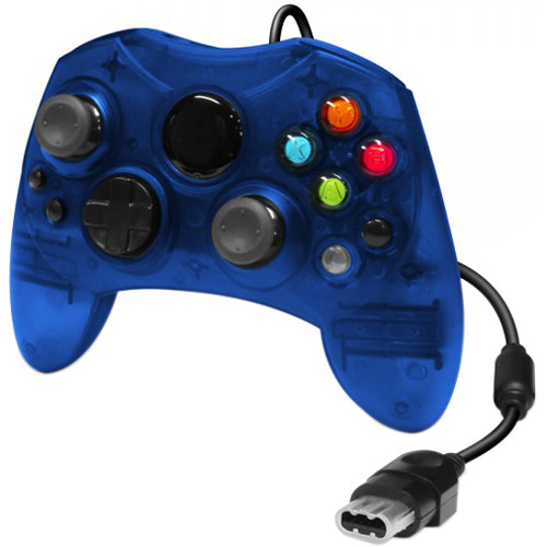 HYPERKIN Wired Xbox Controller (Blue)