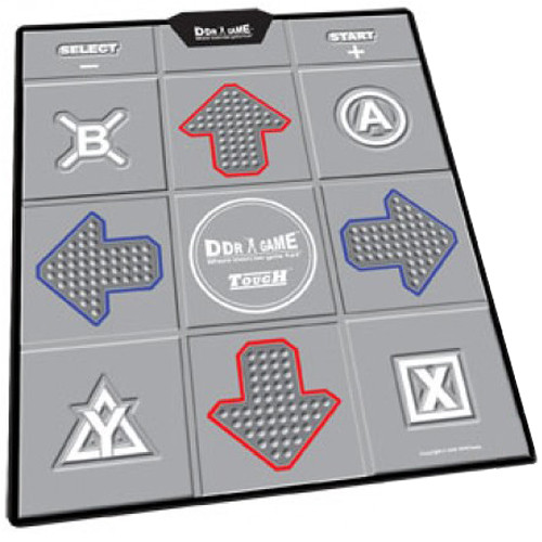 HYPERKIN DDR Game Tough Nonslip Dance Pad for PC/Wii/PS2/PS1/Xbox