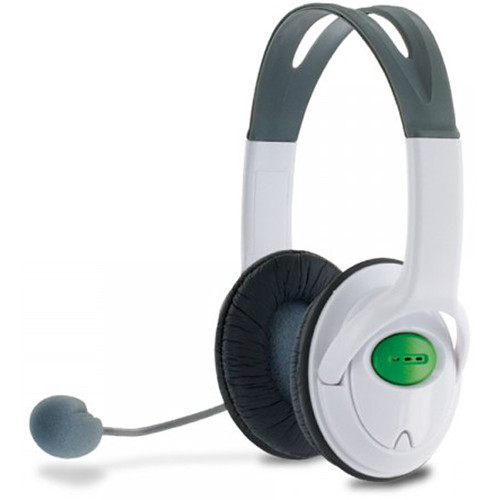 HYPERKIN Tomee MZX-1000 Headset for Xbox 360 (White)