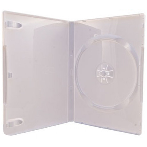 HYPERKIN Replacement Game Case for Nintendo Wii (100-Pack, White)