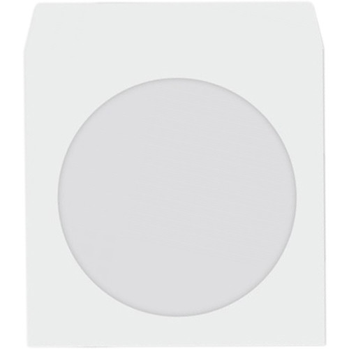 HYPERKIN 1000x Paper Disc Sleeve with Clear Window (White)