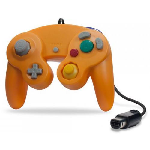 HYPERKIN CirKa Wii/GameCube Wired Controller (Orange)
