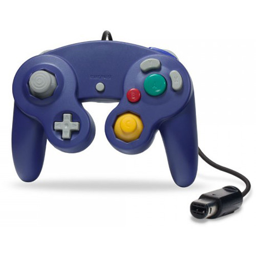 HYPERKIN CirKa Wii/GameCube Wired Controller (Purple)