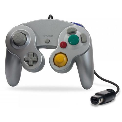 HYPERKIN CirKa Wii/GameCube Wired Controller (Silver)