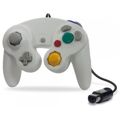 HYPERKIN CirKa Wii/GameCube Wired Controller (White)