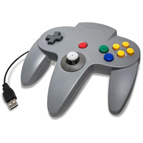 HYPERKIN CirKa N64 USB Controller for PC & Mac (Gray)