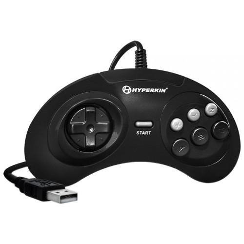 HYPERKIN GN6 Premium Sega Genesis-Style USB Controller for Mac/Windows PC