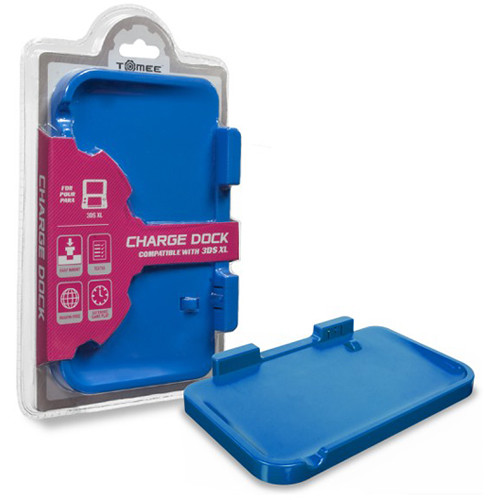 HYPERKIN Tomee Charge Dock for Nintendo 3DS XL (Blue)