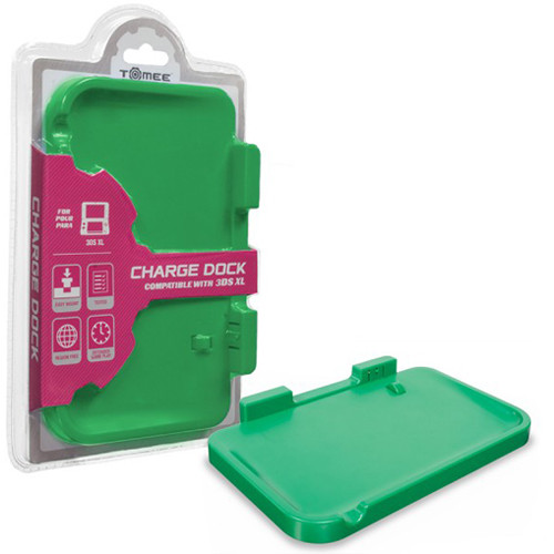 HYPERKIN Tomee Charge Dock for Nintendo 3DS XL (Green)