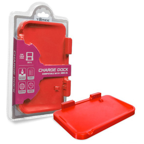 HYPERKIN Tomee Charge Dock for Nintendo 3DS XL (Red)