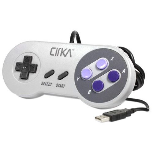 HYPERKIN CirKa S91 Premium SNES-Style USB Controller for Mac/Windows PC