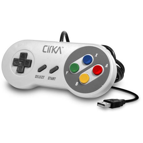 HYPERKIN CirKa S91 Premium Super Famicom-Style USB Controller for Mac/Windows PC