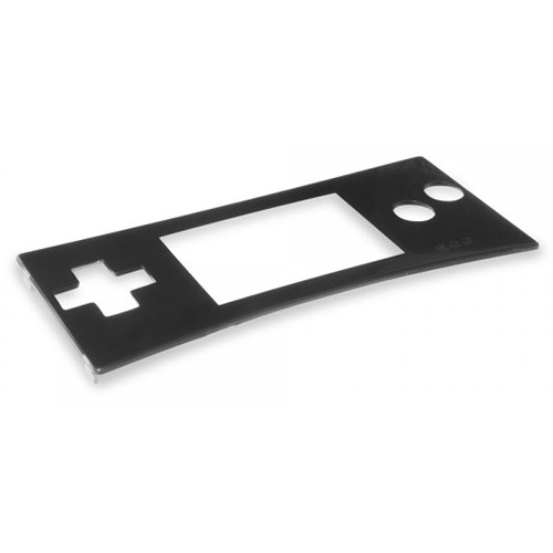 HYPERKIN RepairBox Replacement Faceplate for Nintendo Game Boy Micro (Black)