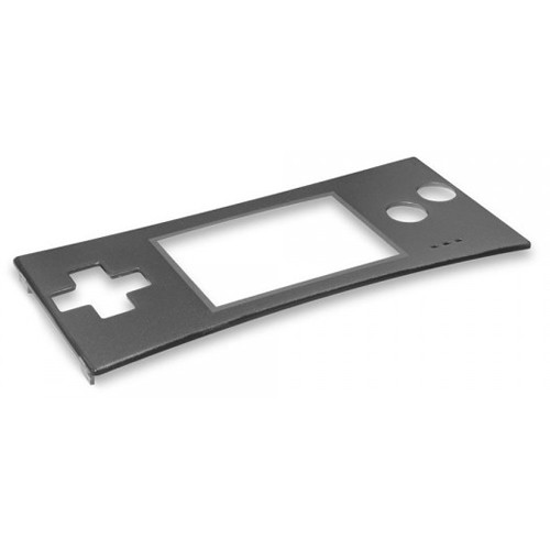 HYPERKIN RepairBox Replacement Faceplate for Nintendo Game Boy Micro (Silver)