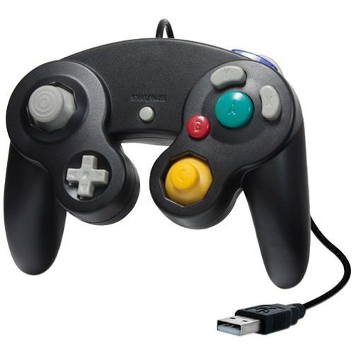 HYPERKIN Cirka Premium GameCube-Style USB Controller for PC/ Mac (Black)