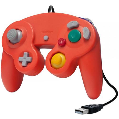 HYPERKIN CirKa Premium GameCube-Style USB Controller (Crimson Red)