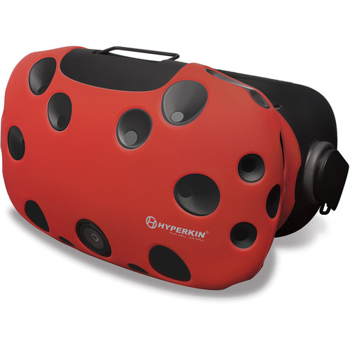 HYPERKIN Gelshell Silicone Skin for HTC Vive (Red)