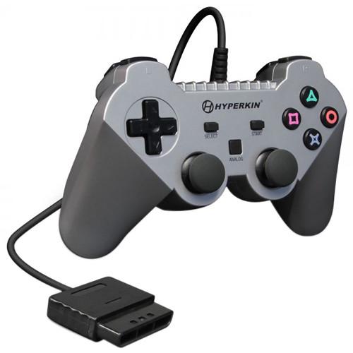 HYPERKIN Warrior Premium Controller for PS2 (Silver)