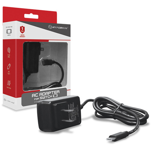 HYPERKIN AC Adapter for Nintendo Switch (4')