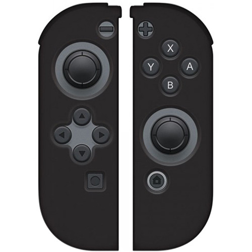 HYPERKIN Silicone Skins for Switch Joy-Con Controllers (Black)