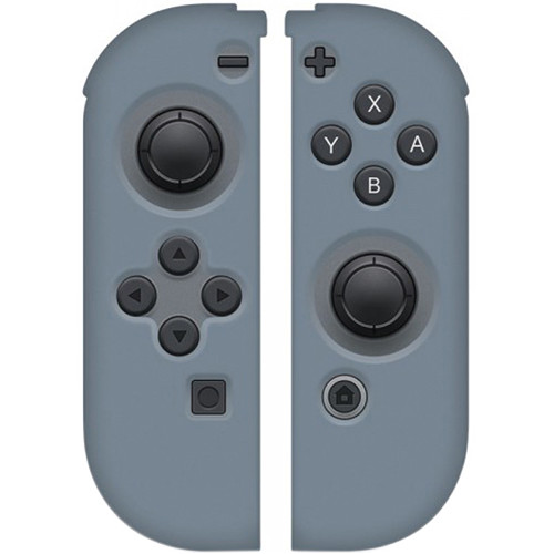 HYPERKIN Silicone Skins for Switch Joy-Con Controllers (Gray)