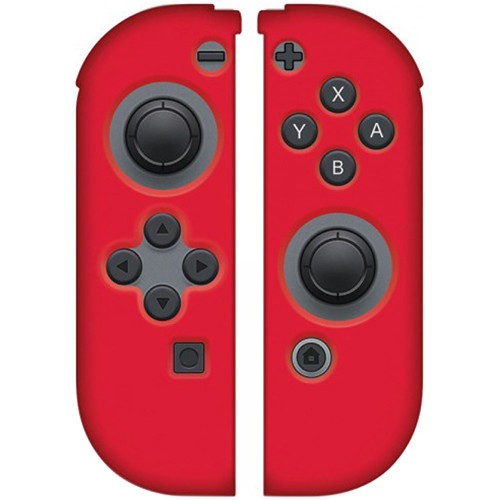 HYPERKIN Silicone Skins for Switch Joy-Con Controllers (Red)