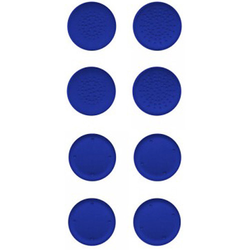HYPERKIN Silicone Thumb Grips for Switch Joy-Con (8-Pack, Neo Blue)