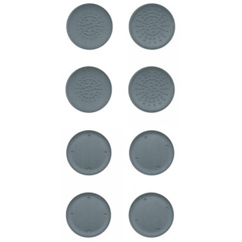HYPERKIN Silicone Thumb Grips for Switch Joy-Con (8-Pack, Neo Gray)