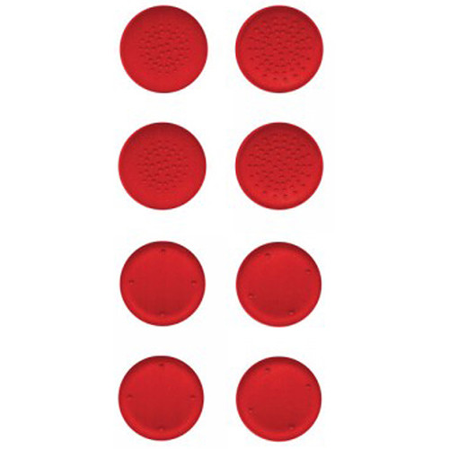 HYPERKIN Silicone Thumb Grips for Switch Joy-Con (8-Pack, Neo Red)