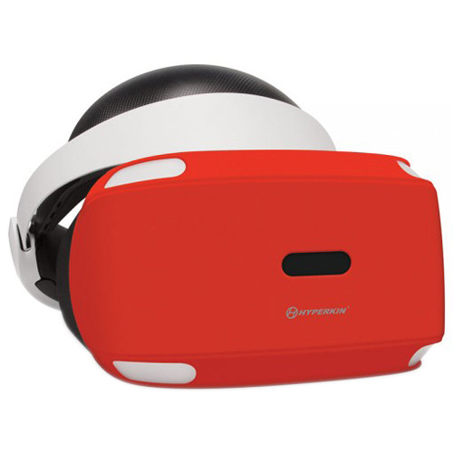 HYPERKIN GelShell Headset Silicone Skin for PS VR (Red)