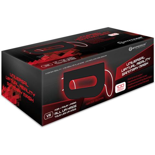 HYPERKIN Universal VR Sanitary Mask V2.0 (100-Pack, Black)