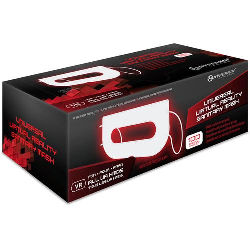 HYPERKIN Universal VR Sanitary Mask V2.0 (100-Pack, White)