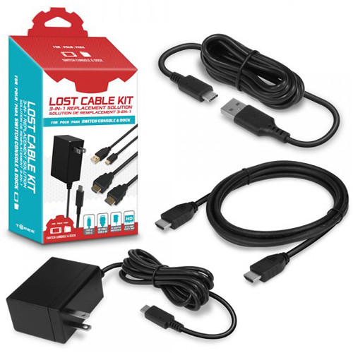 HYPERKIN Tomee Lost Cable Kit for Nintendo Switch Console