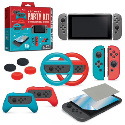 HYPERKIN Armor3 Party Kit for Nintendo Switch